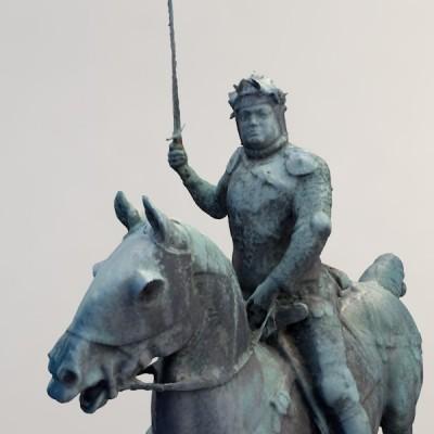 Monument à Bertrand Duguesclin Dinan 180 photos, rendu réalisé sans modification du modèle.