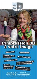 Plaquette 4 volets 3d Imprime