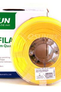 Bobine de filament 3 MM Jaune - 1 kg