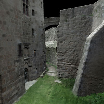 Modèle 3D Dinan Chateau