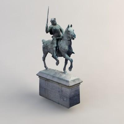 Modèle 3D Bertrand Du Guesclin Dinan
