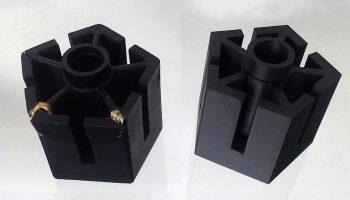 Support de fauteuil redessiné et imprimé en 3D