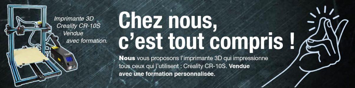 3d imprime CR-10S + formation