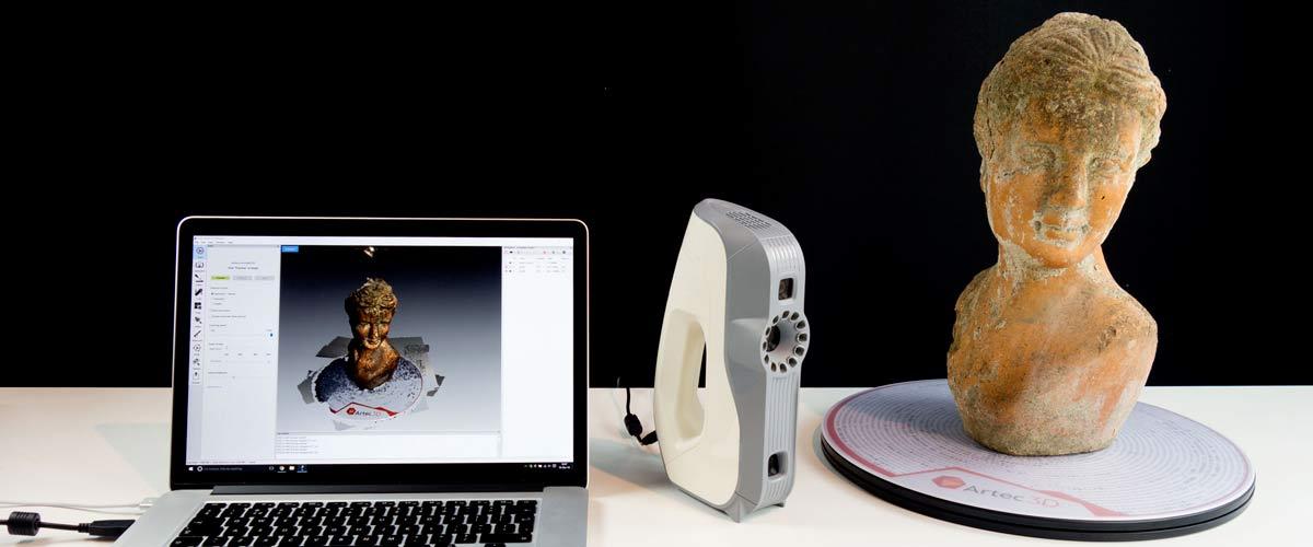 3d imprime, scanner 3D