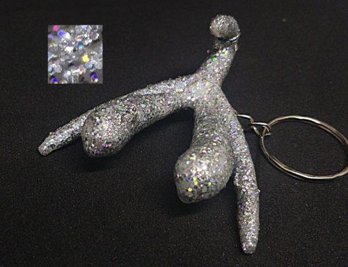 Clitoris anatomique bijoux argent