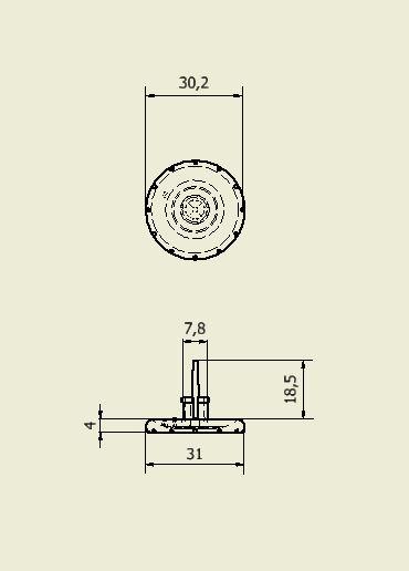 bouton radiateur